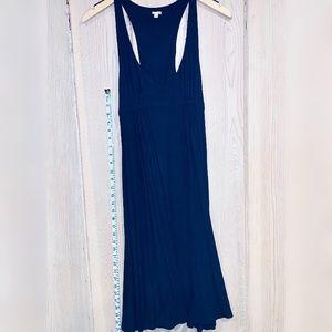 J Crew Navy Maxi Dress * size Small